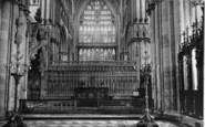 Beverley, Minster, Reredos And Percy Shrine 1934
