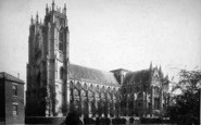 Beverley, Minster, South West c.1885