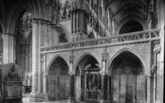 Beverley, Minster, The Lady Chapel 1900