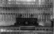 Beverley, Minster, The Reredos 1900