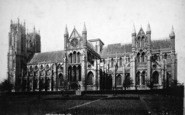 Beverley, Minster, The South Side c.1885