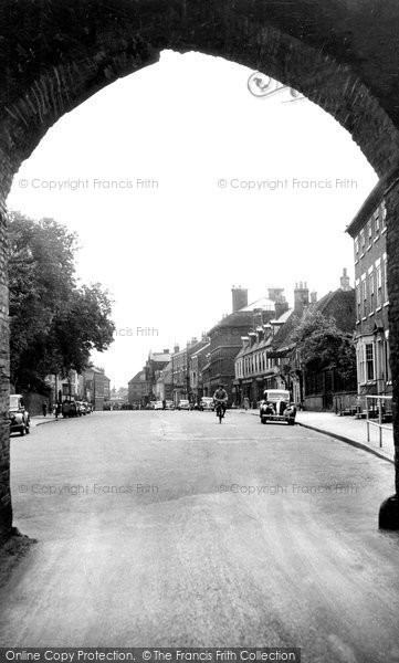 Beverley, North Bar From Within From Without c.1955