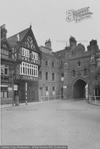 Beverley, North Bar From Without c.1955