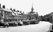 Beverley, Saturday Market c.1955