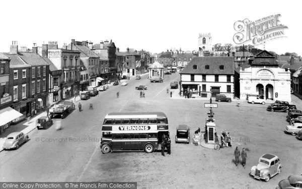 Beverley, Saturday Market c.1960