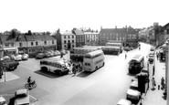 Beverley, Saturday Market c.1965