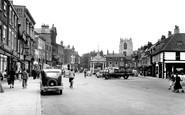 Beverley, Saturday Market Place c.1955