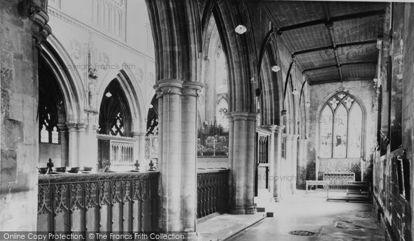 Beverley, St Catherine's Chapel, St Mary's Church c.1955