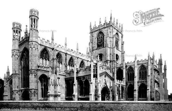 Beverley, St Mary's Church 1886