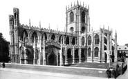 Beverley, St Mary's Church 1906