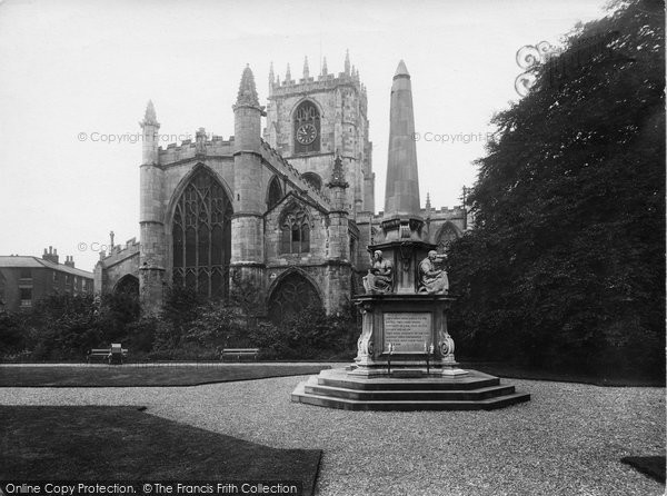Beverley, St Mary's Church And War Memorial 1927