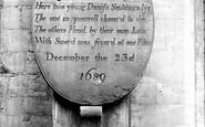 Beverley, St Mary's Church The Danish Memorial 1913