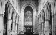 Beverley, St Mary's Church, The Nave East 1894