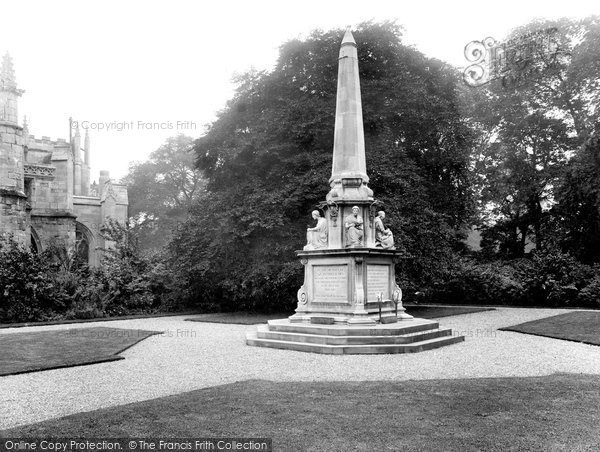 Beverley, St Mary's Church War Memorial 1927