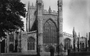 Beverley, St Mary's Church, West Front 1894