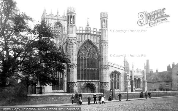 Beverley, St Mary's Church, West Front c.1885