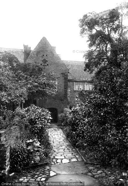 Beverley, The Friary 1913