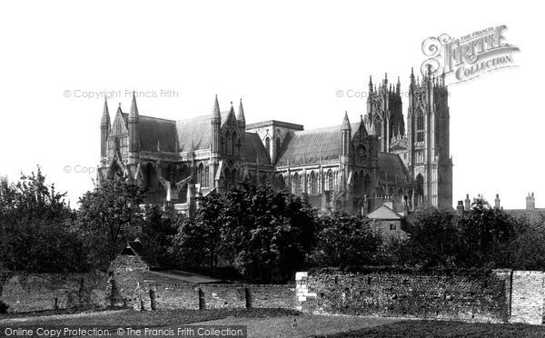 Beverley, The Minster 1886