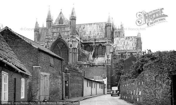 Beverley, The Minster c.1960