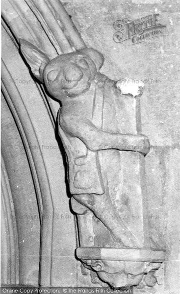 Beverley, The Pilgrim Rabbit, St Mary's Church c.1965