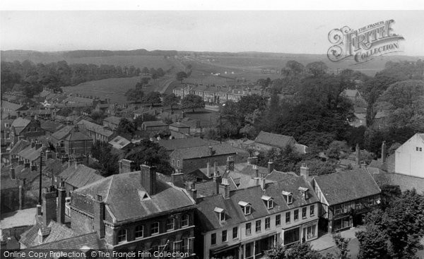 Beverley, The Race Course From St Mary's Church c.1955