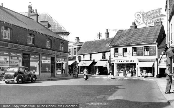 Beverley, Toll Gavel And Cross Street c.1960