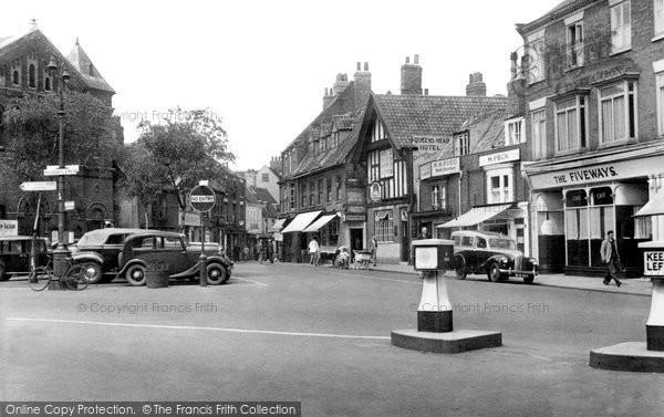 Beverley, Wednesday Market c.1955