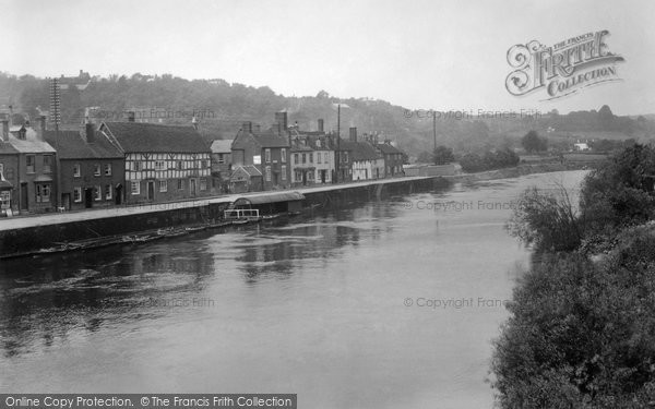 Bewdley, River Severn 1931