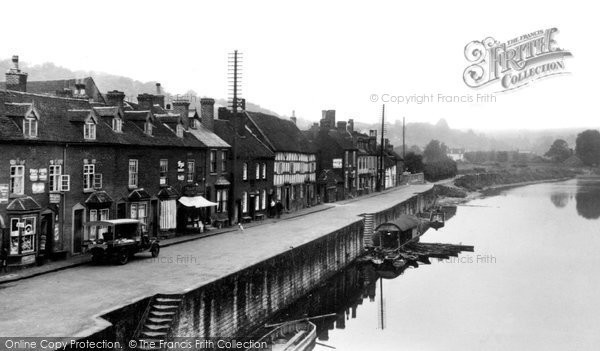 Bewdley, Severn Side (North) c.1940