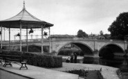 Bewdley, The Bridge And River c.1955