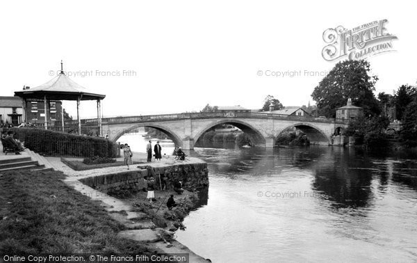 Bewdley, The Bridge c.1955