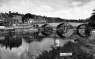 Bewdley, The Bridge c.1960