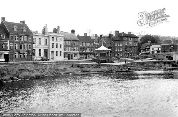 Bewdley, The River And Severn Side c.1950