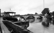 Bewdley, The River Severn c.1955