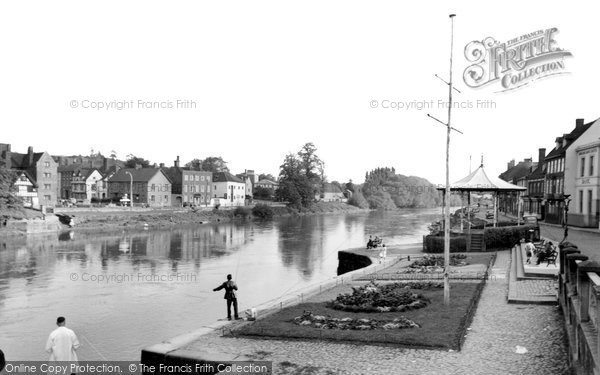 Bewdley, View From The Bridge 1956