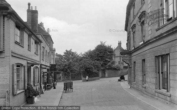 Bexhill, Church Street 1921