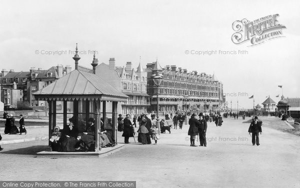 Bexhill, East Parade 1899