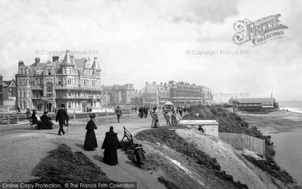 Bexhill, From Coastguard Station 1897