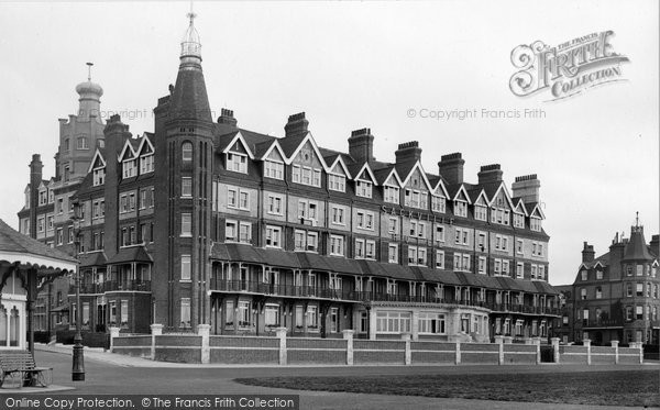 Bexhill, Lackville Hotel 1921