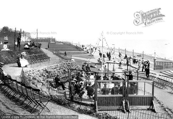 Bexhill On Sea, Central Parade 1910