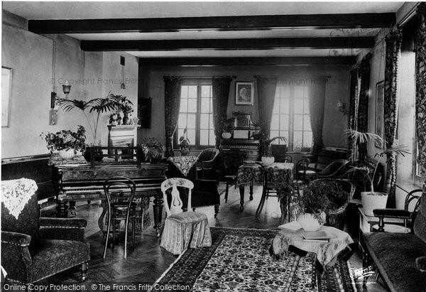 Bexhill On Sea, Convalescent Home Interior 1899
