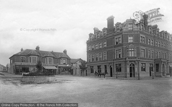 Bexhill On Sea, Devonshire Hotel 1891