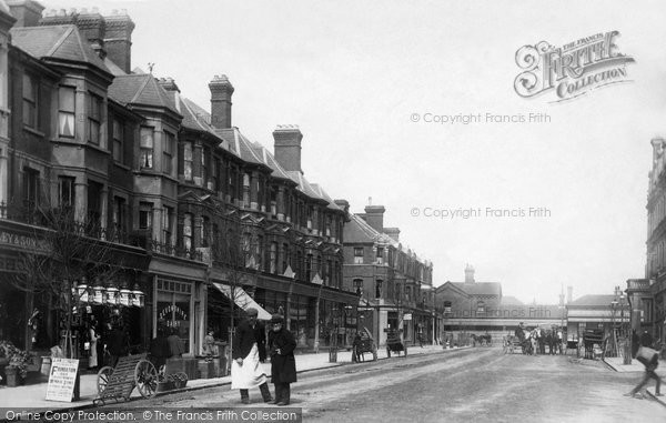 Bexhill On Sea, Devonshire Road 1896