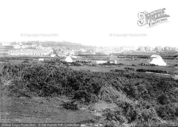 Bexhill On Sea, Downs And Cricket Ground 1894
