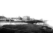 Bexhill-on-Sea, From Coast Guard Station 1891