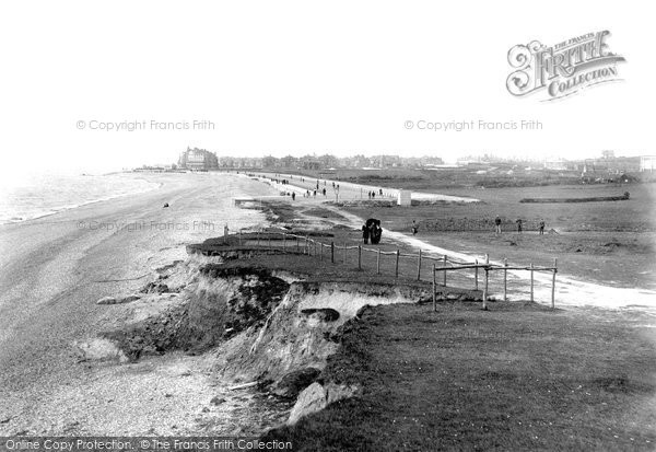 Bexhill On Sea, From Galley Hill 1897