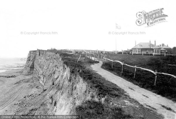 Bexhill On Sea, Galley Hill Cliffs 1894