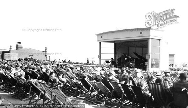 Bexhill On Sea, Listening To The Band c.1955