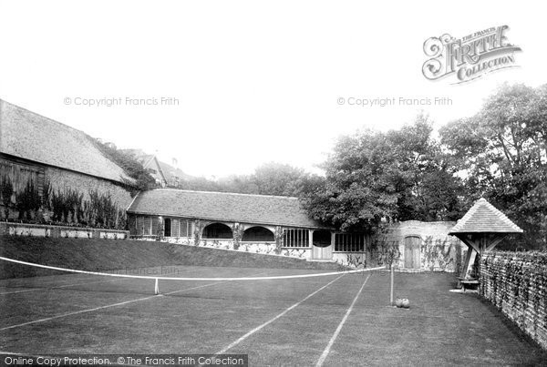 Bexhill On Sea, Manor House Tennis Court 1892