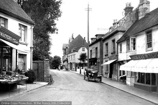 Bexhill On Sea, Old Town 1921